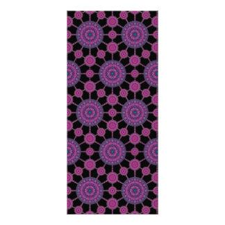 Jumping Cholla Cactus Mandala Array Bookmark Rack Card