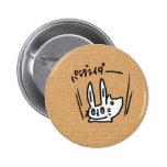 Jumping Cute rabbit button model 1