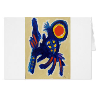 Jumping Dog by Piliero Card