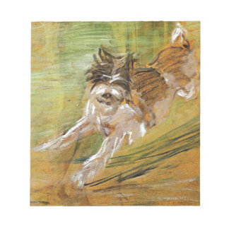 Jumping Dog Schlick by Franz Marc Notepad