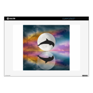 Jumping Dolphin Decals For Laptops