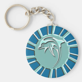 JUMPING DOLPHIN KEYCHAIN