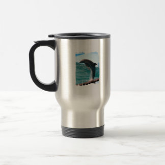 Jumping Dolphin Stainless Travel mug