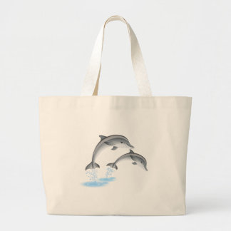 Jumping dolphins bags