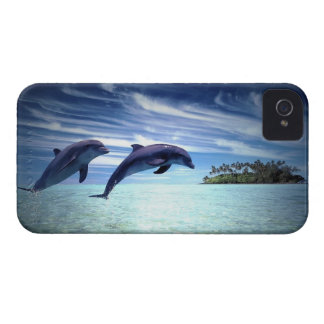 Jumping Dolphins Case-Mate iPhone 4 Cases