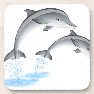 Jumping dolphins coaster