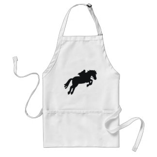Jumping Draft Horse Adult Apron