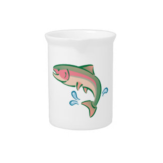 Jumping Fish Drink Pitcher