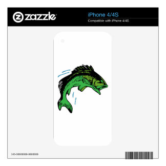 Jumping Fish iPhone 4S Decals