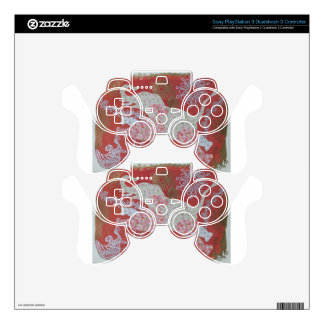 jumping flower elephant skins for PS3 controllers