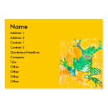 Jumping Frog Business Card Template