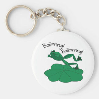 Jumping Frog Key Chain