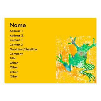 Jumping Frog Large Business Card