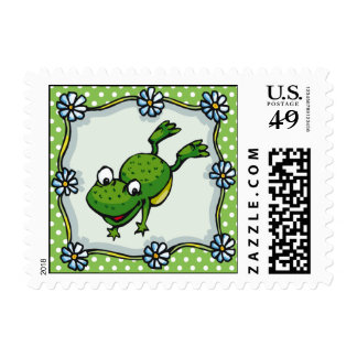 Jumping Frog Postage