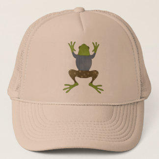 Jumping Frog Trucker Hat