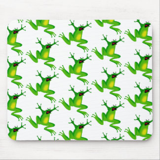 Jumping Frogs Mouse Pad