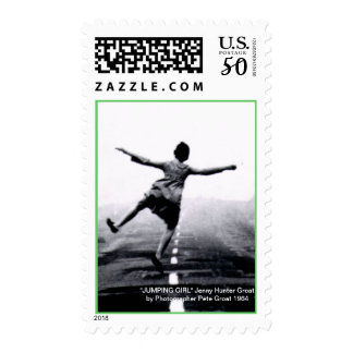 """""""JUMPING GIRL"""" POSTAGE"""
