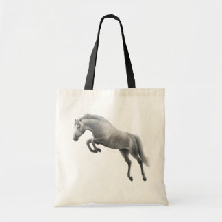 Jumping Gray Horse Bag