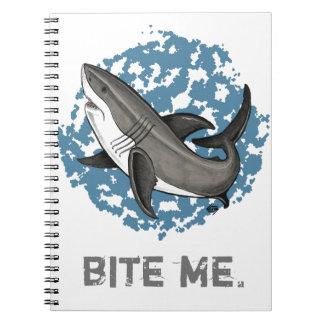 Jumping Great White Shark Notebook
