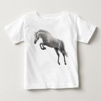 Jumping Grey Horse Infant T-Shirt