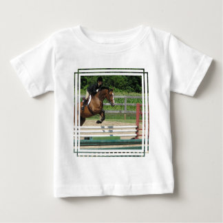 Jumping Horse Baby T-Shirt