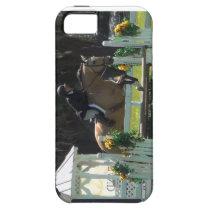 Jumping horse, buckskin horse iPhone SE/5/5s case