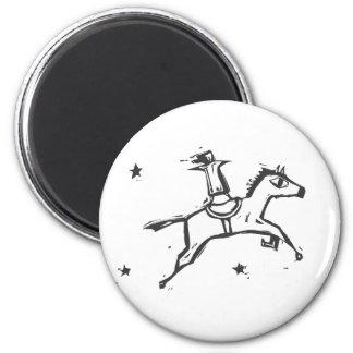 Jumping Horse Refrigerator Magnets