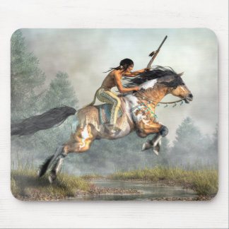 Jumping Horse Mouse Pad