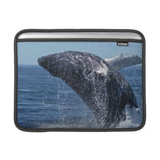 """Jumping Humpback Whale 13"""" MacBook Sleeve"""
