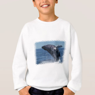 Jumping Humpback Whale Youth Sweatshirt