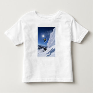 Jumping into Snake Creek Canyon from Clayton 2 Toddler T-shirt