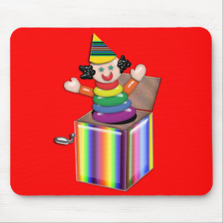 Jumping Jack in the Box Mouse Pad