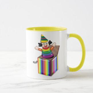 Jumping Jack in the Box Mug