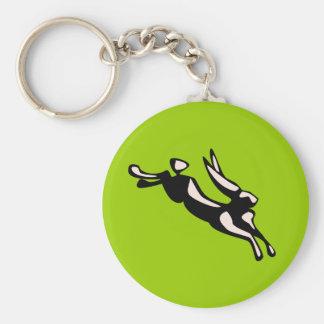 Jumping Jack Rabbit Keychain