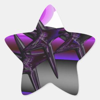 Jumping Jacks Star Sticker