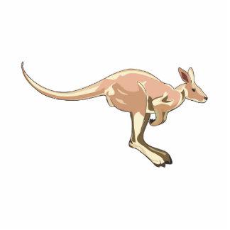 Jumping Kangaroo Cut Out