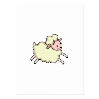 JUMPING LAMB POSTCARD