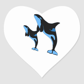 JUMPING LESSONS HEART STICKER