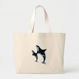 JUMPING LESSONS LARGE TOTE BAG