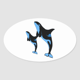 JUMPING LESSONS OVAL STICKER