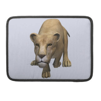 Jumping Lioness Sleeve For MacBook Pro