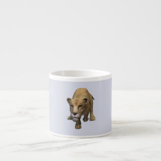 Jumping Lioness Espresso Cups