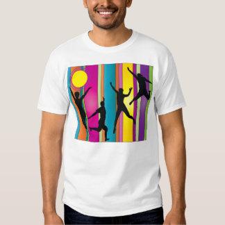 jumping_logo t shirt