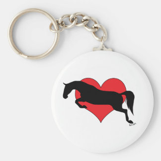 Jumping Love Keychain