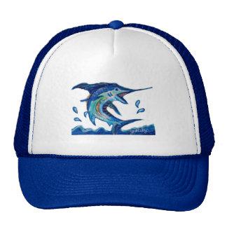 Jumping Marlin Trucker Hat
