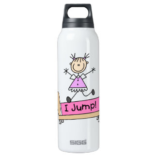 Jumping on the Bed Stick Figure Girl SIGG Thermo 0.5L Insulated Bottle