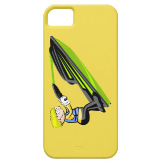 Jumping on the waves in a Jet Ski iPhone SE/5/5s Case