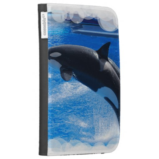 Jumping Orca Whale Kindle Cover