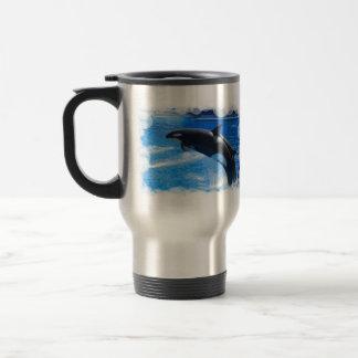 Jumping Orca Whale Coffee Mug