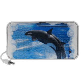 Jumping Orca Whale PC Speakers